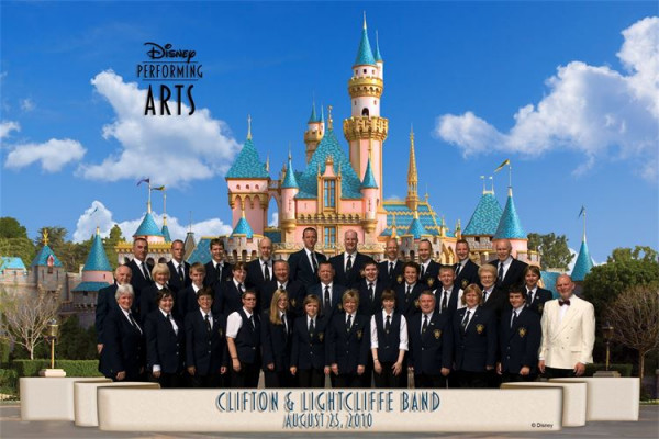 Clifton & Lightcliffe Band Disney Park California