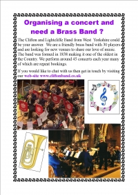 Looking for a Brass Band then look no further